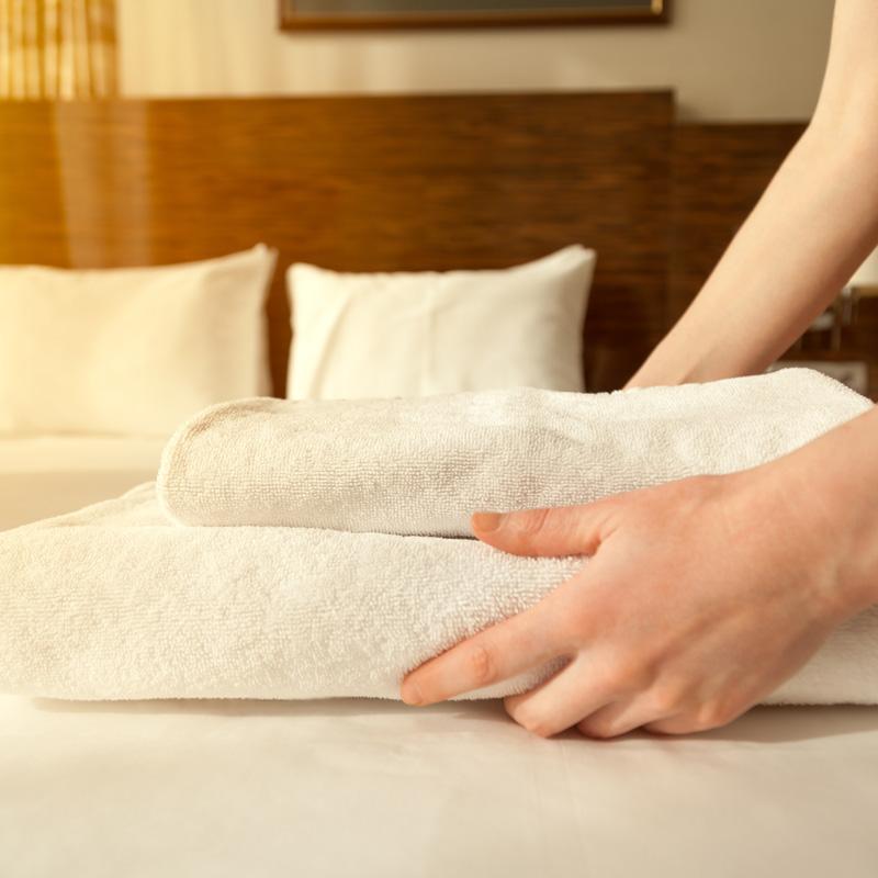 fornitura biancheria per alberghi