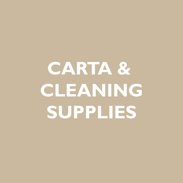 linea carta e cleaning supplies